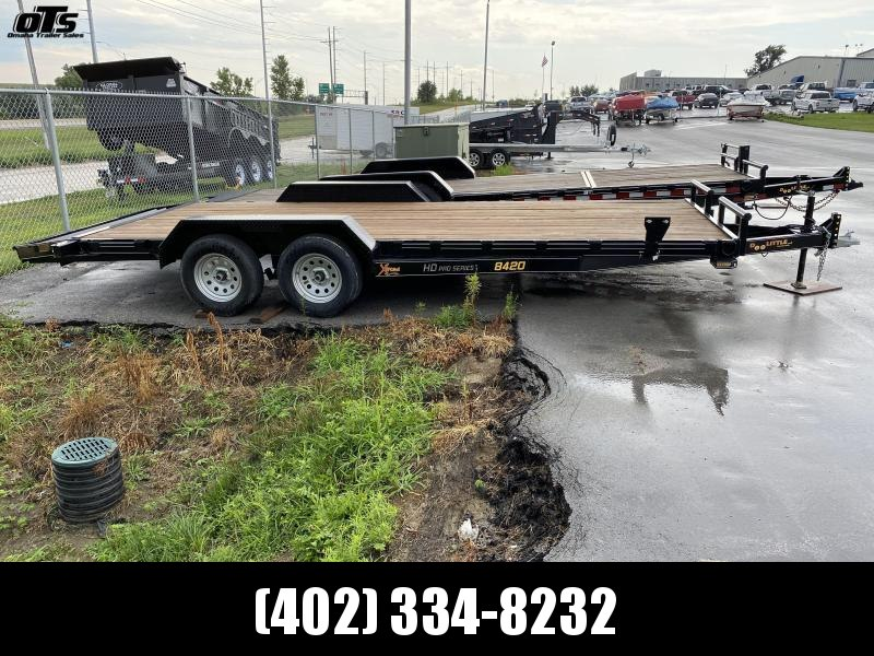 2021 Doolittle Trailer Mfg Xtreme 84' Wide 7K Equipment Trailer