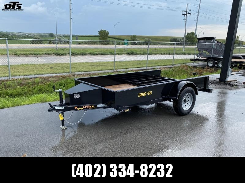 2021 Doolittle Trailer Mfg 660 Series Single Axle 3K Utility Trailer