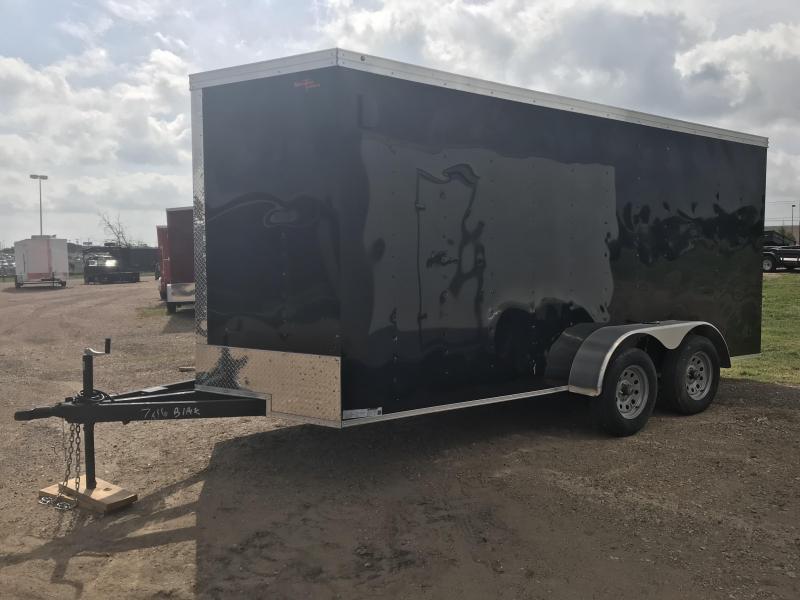7x16 Enclosed Cargo Trailer