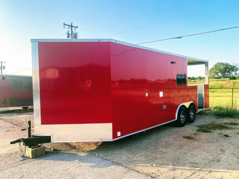 8.5X22TA TEXAS COMPETITION BBQ TRAILER