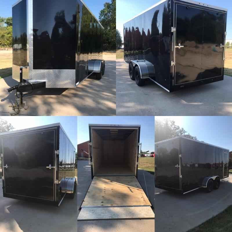 7x18 Enclosed Cargo Trailer