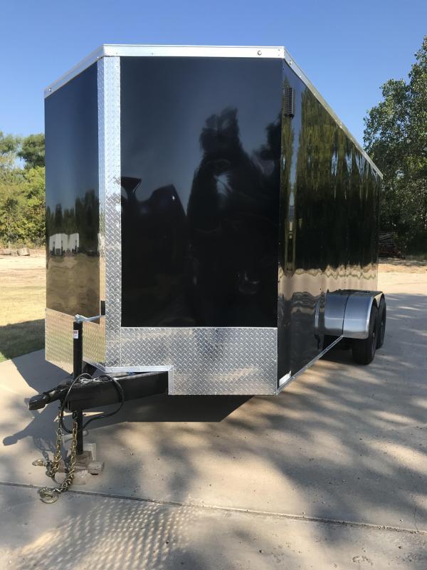 7x18 Enclosed Cargo Trailer