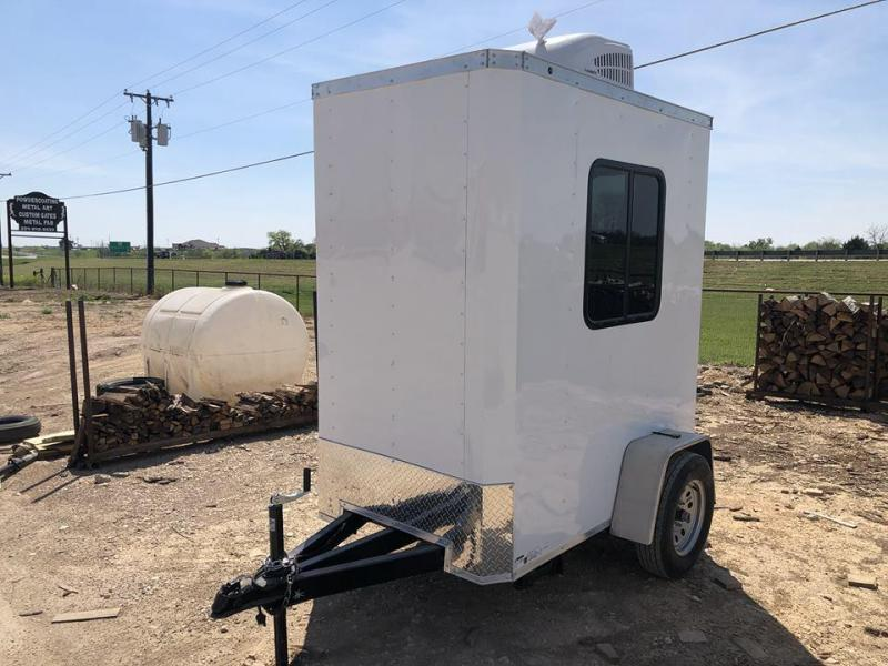 4X6 Security Trailer