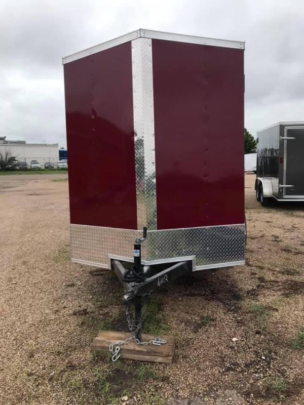 6x12SA Enclosed Cargo Trailer