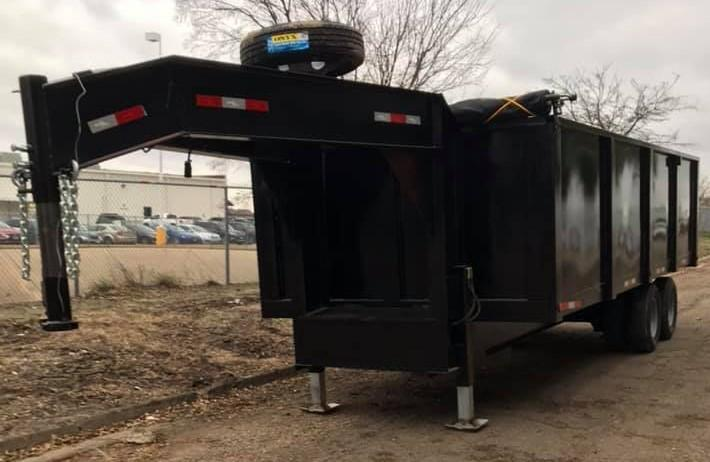 8x20 Dump Trailer