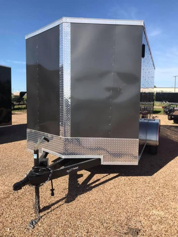 7x14 Enclosed Cargo Trailer