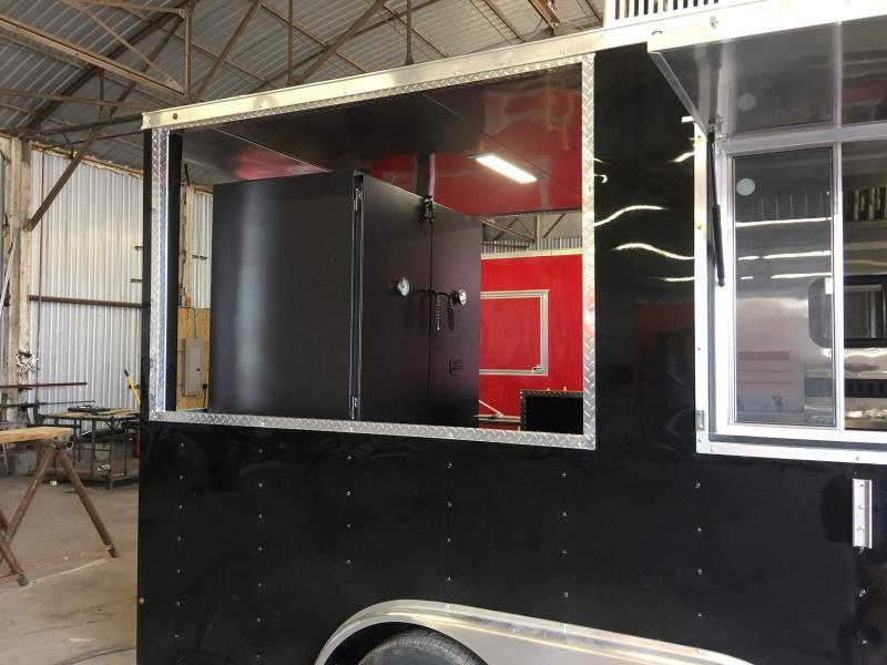 8.5X20TA BBQ Vending / Concession Trailer