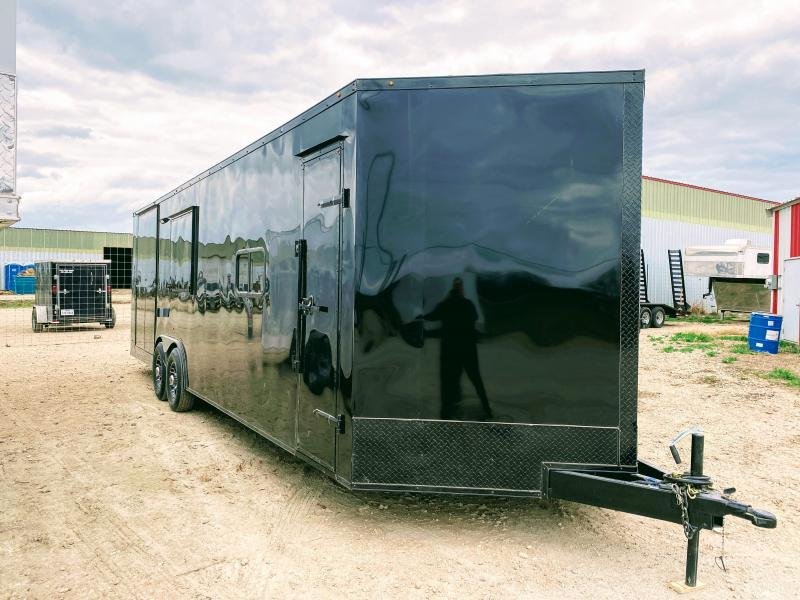 8.5X26TA TEXAS COMPETITION BBQ TRAILER