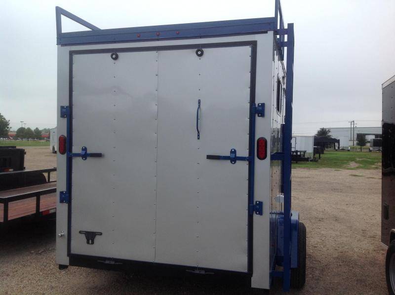 7x10 Motorcycle Trailer