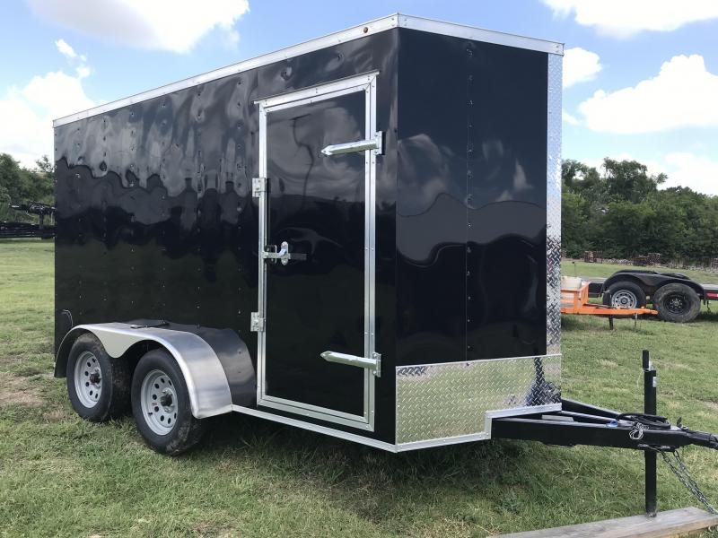 6x12TA Enclosed Cargo Trailer