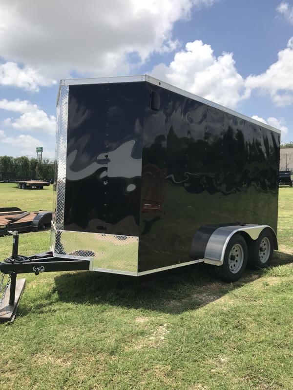 6x12TA Enclosed Cargo Trailer