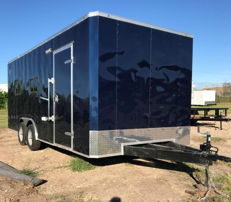 8.5x20 Office Trailer