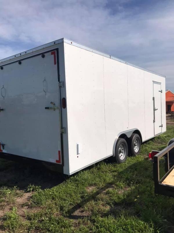 8.5x20 Enclosed Cargo Trailer