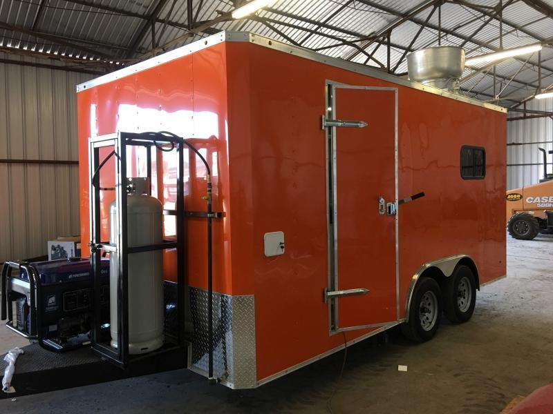 8.5x16 Vending / Concession Trailer
