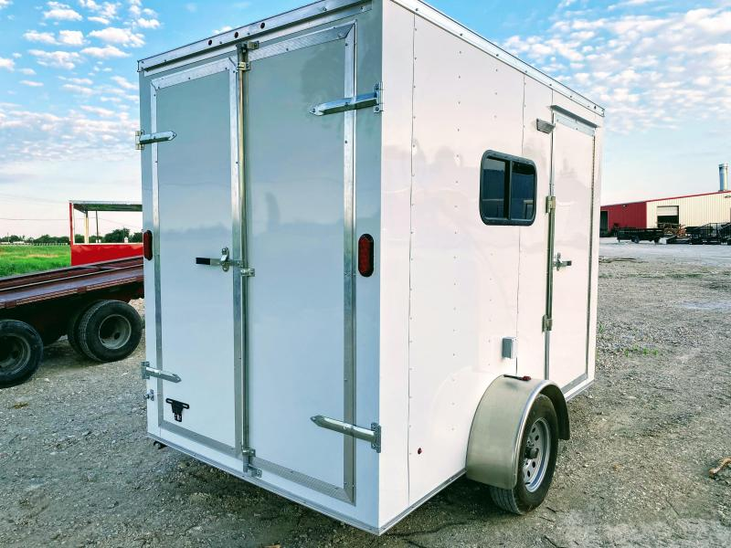 6X10SA TEXAS MOBILE DOG GROOMING TRAILER