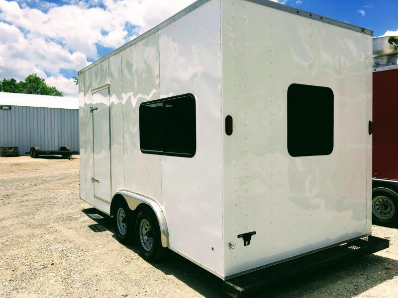 8.5X20TA Office Trailer Oilfield Trailer