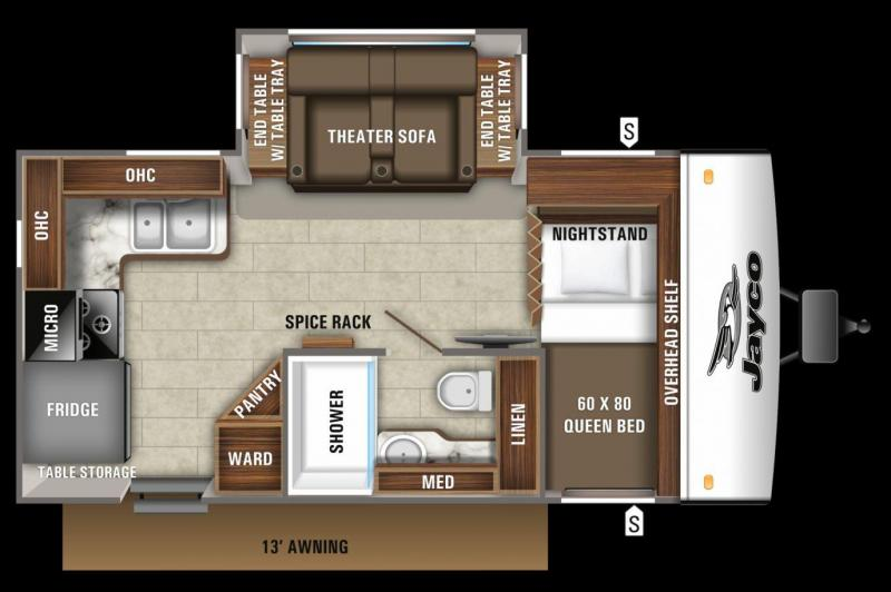2020 Jayco Jay Feather 16RK Travel Trailer RV