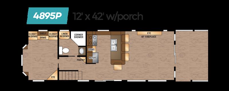 2020 Kropf Island 4895P Park Model RV