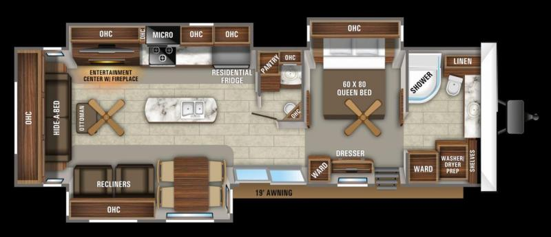 2020 Jayco Jay Flight Bungalow 40FBTS Destination Trailer RV