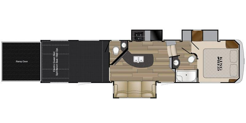 2018 Heartland Edge 315-JM Toy Hauler RV