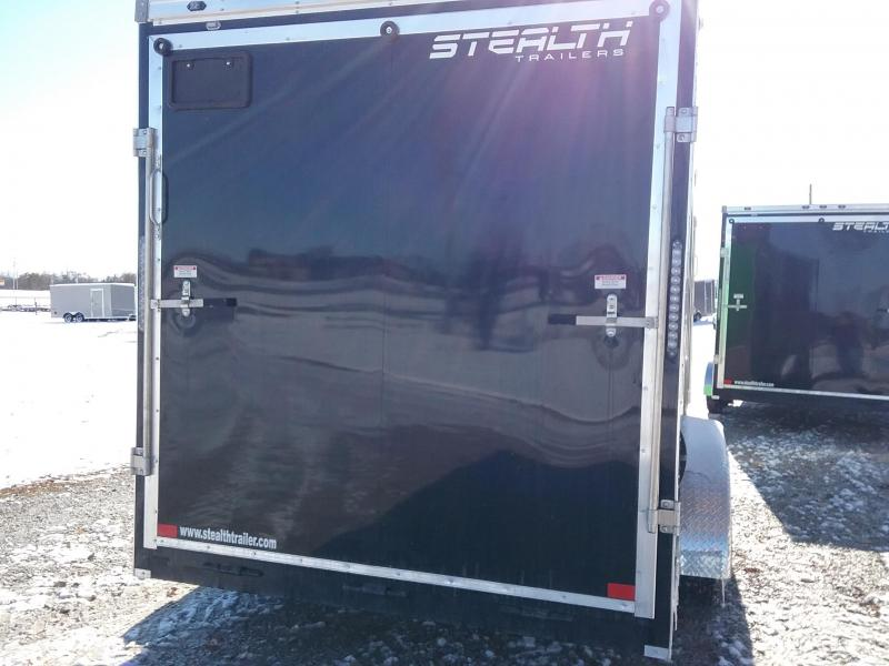 "7x16 (+12"" Additional Height) Stealth Titan Cargo Trailer"