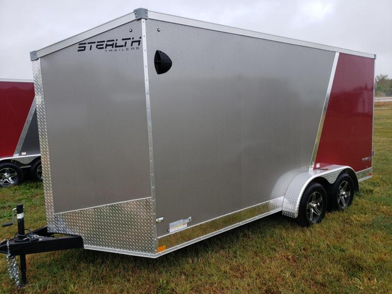 "Stealth Titan 7x16+12"" (7' Interior Height) Cargo/enclosed Trailer"