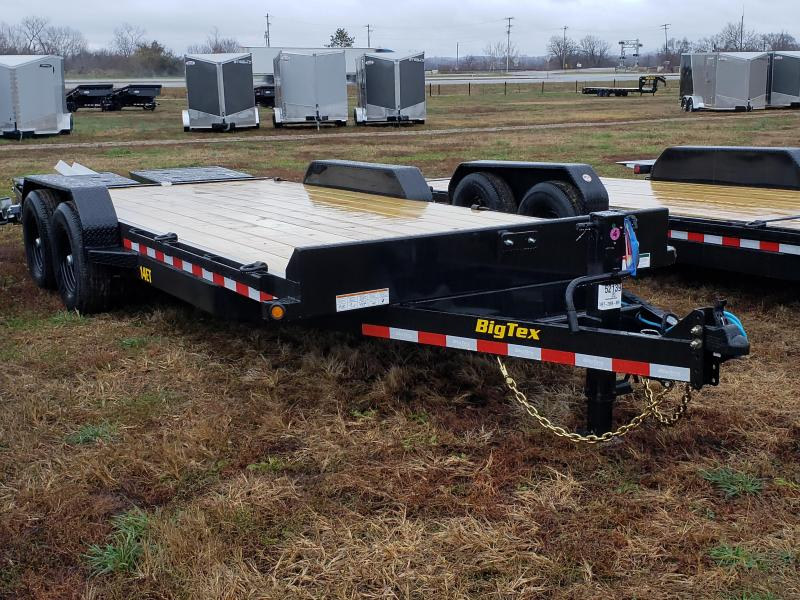 Big Tex Trailers 20' 14K w/Mega Ramps Equipment Trailer