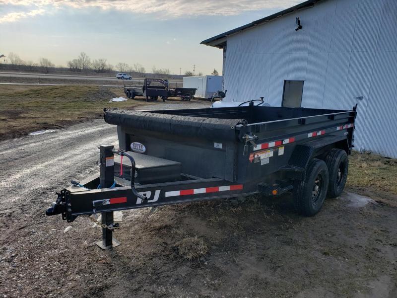 PJ Trailers 83x12 Low-Pro Dump Trailer
