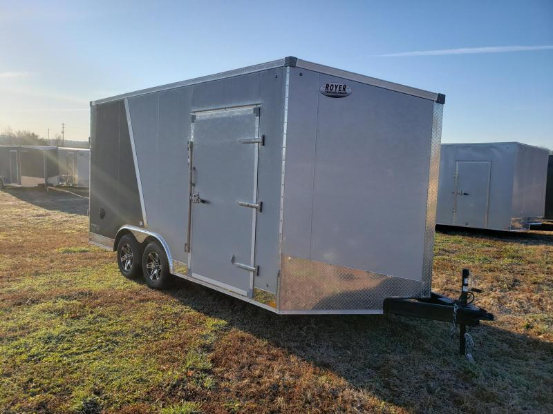 "Stealth Titan 85x16+12"" (7'6"" Interior Height) Enclosed Cargo Trailer"
