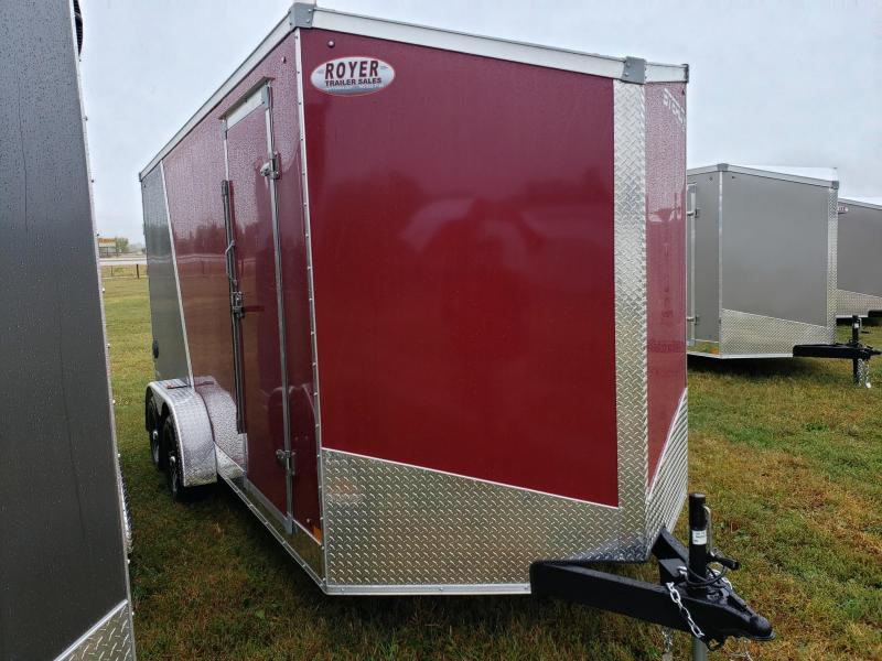 Stealth Titan 7x17+12 (7' Interior) Enclosed Cargo Trailer