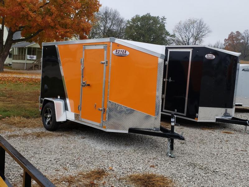 "Stealth Titan  5X10 +6"" (5'6"" Interior Height) Enclosed Cargo Trailer"