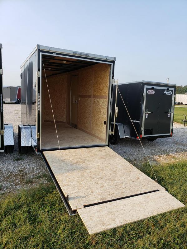 "Stealth Titan  6x12 +12"" Height (7' Interior Height) Enclosed Cargo Trailer"