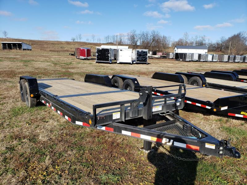 PJ Trailers 14k 83x22 Tilt Equipment Trailer