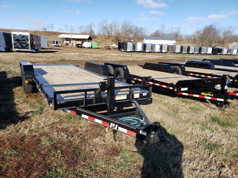 PJ Trailers 16K 82'x20' Tilt Equipment Trailer