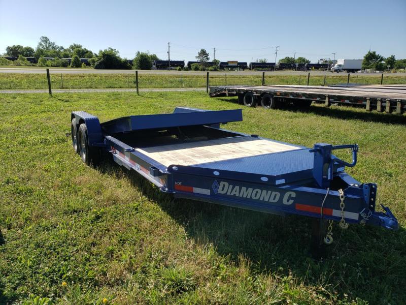 2019 Diamond C 14k 20' Tilt Equipment Trailer