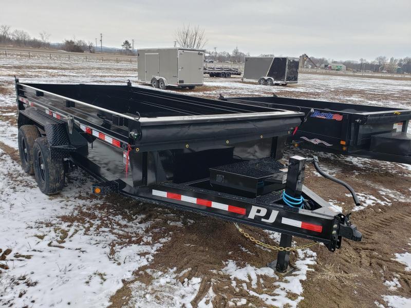 2021 PJ 14K 83X14 Low Pro Dump Trailer