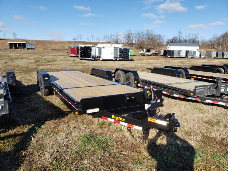Big Tex 14K 83x22' Tilt Equipment Trailer