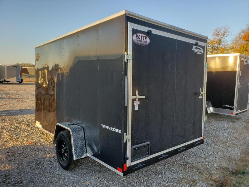 "Formula Traverse 7X12 +6"" Height (6'6"" Interior) Single Axle Enclosed Cargo Trailer"