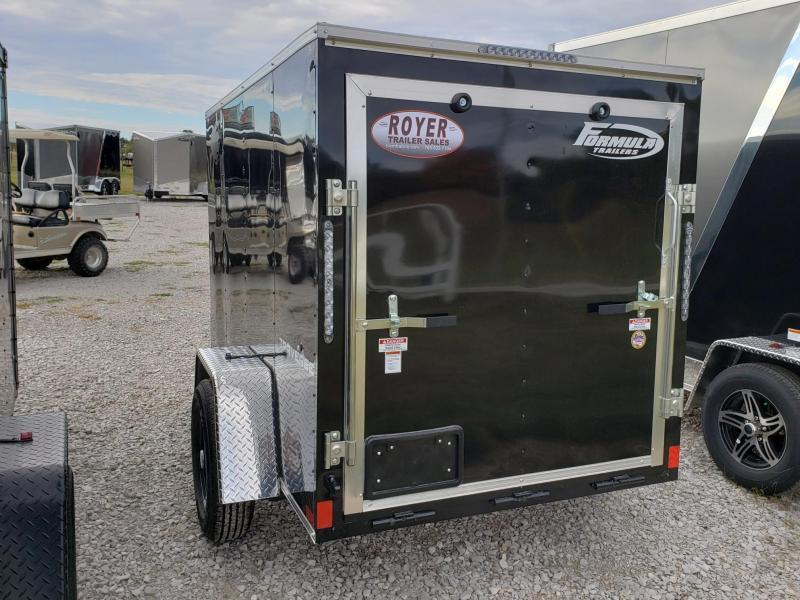 Formula 5X8 (5' Interior Height) Enclosed Cargo Trailer