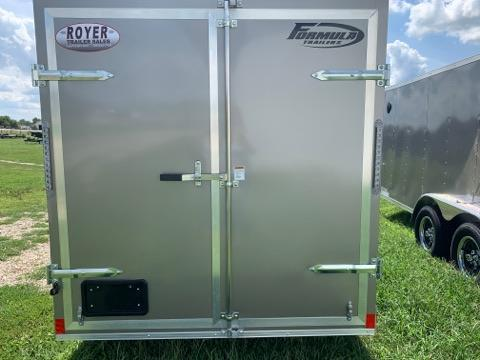 6x12 Formula Conquest Enclosed Cargo Trailer with Barn Doors