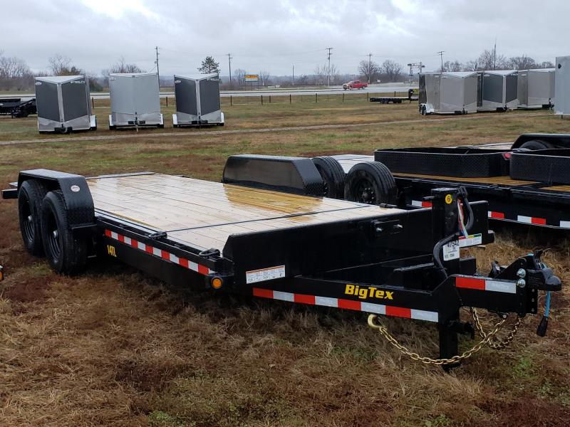 Big Tex Trailers 20' 14K Tilt Equipment Trailer