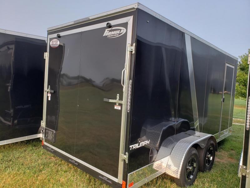 "Formula Triumph 7x16+12"" (7' Interior Height)Enclosed Cargo Trailer"