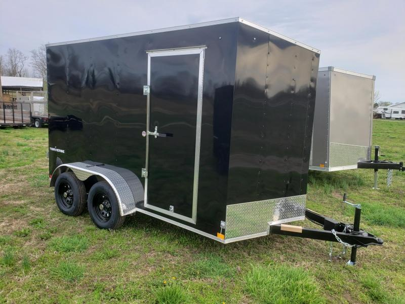 "Formula 7x12+12"" Height Traverse Enclosed Cargo Trailer"