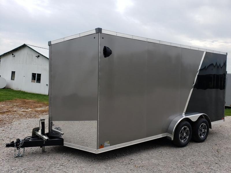 "Sport 7x16 +12"" (7' Interior)Enclosed Cargo Trailer"