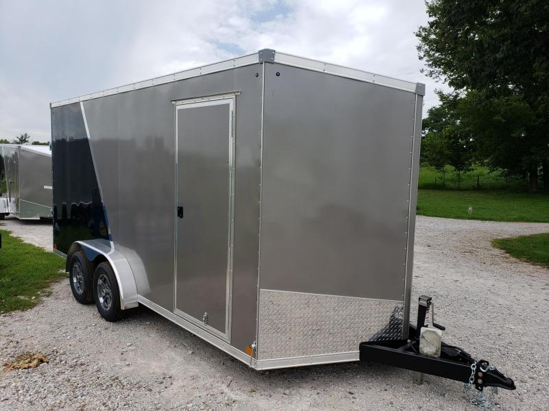 "2021 Sport 7xs16 +12"" (7' Interior)Enclosed Cargo Trailer"