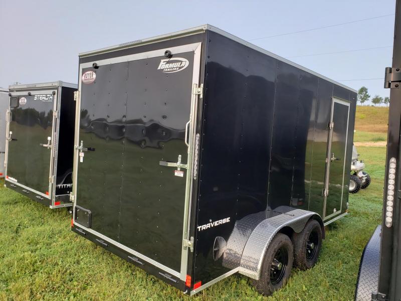 "Formula Traverse 7x14+12"" (7' Interior Height) CARGO/Enclosed Trailer"