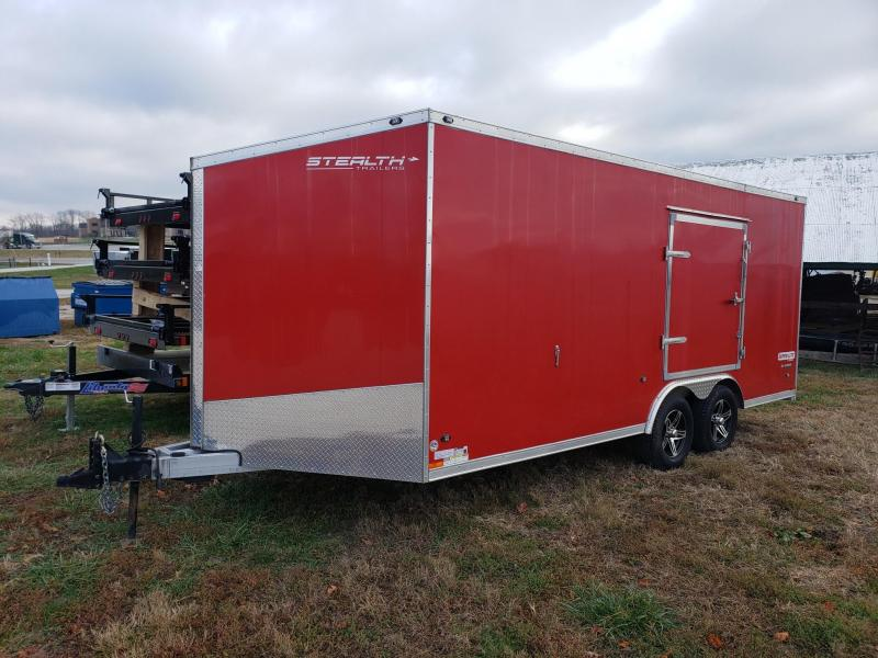 2016 Stealth Trailers 8.5X18 7K ALUMINUM SUPER LITE Enclosed Cargo Trailer
