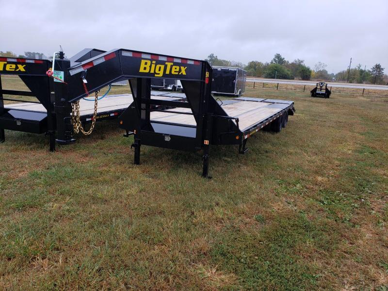 "Big Tex 14GN 102""x 20' w/5' Mega Ramp Gooseneck Flatbed Trailer"