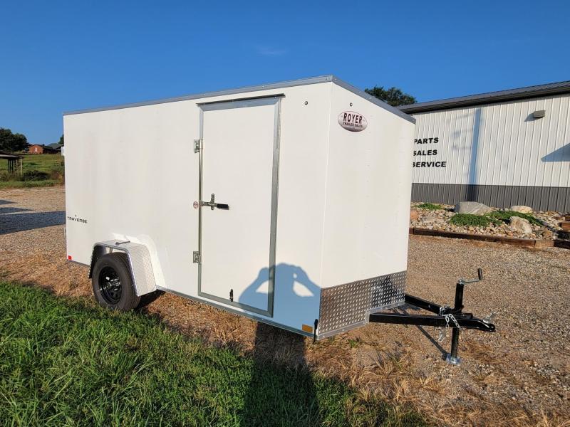 "6x12 (+6"" Additional Height) w/Rear Barn Doors Formula Traverse"