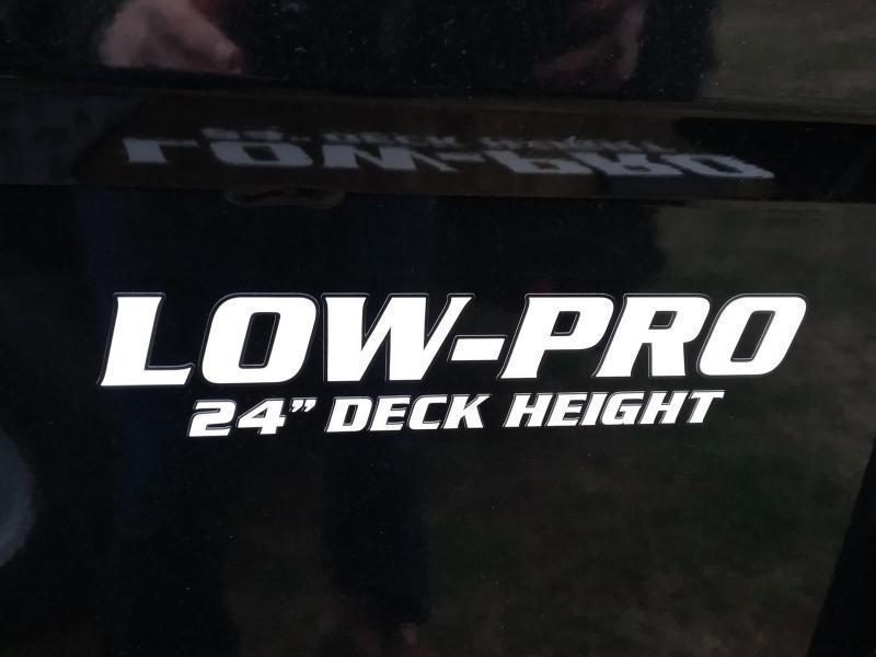"83""X16' PJ Low-Pro Dump Trailer w/ Tarp"